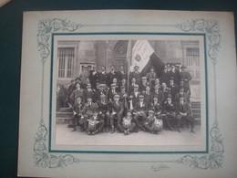 Photo Conscrits Clamecy Nièvre Classe 1920 - Guerre, Militaire