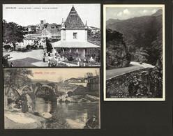 Conjunto De 3 Postais Antigos Do Distrito De BRAGA (Barcelos, Gerez E Vizella) PORTUGAL - Braga