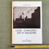 LIEGE-CHARLEROI: ART ET INDUSTRIE RASSENFOSSE PAULUS CARTE STEVEN CARION ... 1987 MUSEE ART WALLON LIEGE - Art