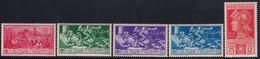 Regno D'Italia Ferrucci 1930 Serie Completa Sass. 276/280 MNH** Cv 100 - Neufs