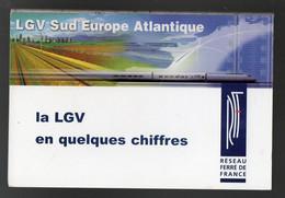 Dépliant  LGV  SUD EUROPE ATLANTIQUE  (SNCF)  (PP29306) - Folletos Turísticos