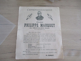 Buvard Pub Publicitaire Vins Philipe Marquet Grau Du Roi Gard Pli D'archivage - V