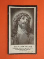 Charles Dequeker - Vervisch Geboren Te West-Nieuwkerke 1837 En Overleden Te Wytschaete ( Wijtschate ) 1923   (2scans) - Religion & Esotericism