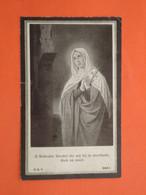 Charles Delbecque-Deconinck-Blootacker Geboren Te Voormezeele 1856 Overleden Te Wytschaete ( Wijtschate ) 1923  (2scans) - Religion & Esotericism