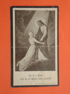 Sylvie Depoorter Dochter Van Wouts Geboren Te Wytschaete ( Wijtschate ) 1873 Overleden Te Yper 1930  (2scans) - Godsdienst & Esoterisme