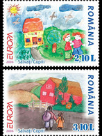Romania 2006 EUROPA Stamps - Integration Through The Eyes Of Young People.MNH ** - 2006