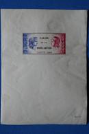 U1 FRANCE BEAU BLOC FEUILLET 1946 SALON DE PHILATELIE CSNTP - Non Classés