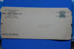U1 CANADA GRANDE LETTRE 1949 TORONTO POUR NEWTON KANSAS USA  + AFFRANCH . INTERESSANT - Storia Postale