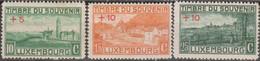 Lussemburgo Luxemburg 1921 MiN°127/29 4v Cpl Set MLH/** Vedere Scansione - 1921-27 Charlotte Frontansicht