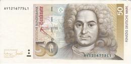 BILLETE DE ALEMANIA DE 50 MARK DEL AÑO 1993 EN CALIDAD EBC (XF)  (BANKNOTE) - 50 Deutsche Mark