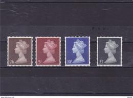 GB 1969 ELIZABETH II Yvert 487-490 NEUF** MNH Cote : 20 Euros - Neufs