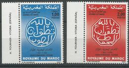 Maroc 10 - 1986 N°1019 Et 1020 - Morocco (1956-...)