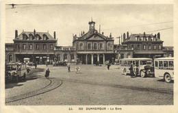DUNKERGE  La Gare AUTOBUS 's RV - Dunkerque