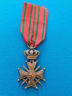 Croix De Guerre Belge 1914 1918 - 1914-18