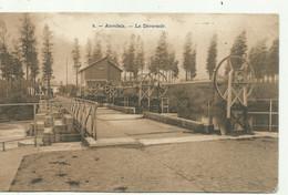 Auvelais - Les Déversoir  - Verzonden 1910 ---- 2 Scans - Sambreville