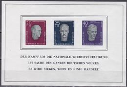 DDR 1958 - Mi.Nr. Block 15 - Postfrisch MNH - Bloques