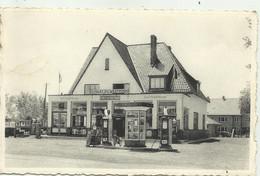 Adinkerke - Chalet Du Westhoek , Café, Restaurant, Friture , Benzinepomp BP   -verzonden  ( 2 Scans) - De Panne