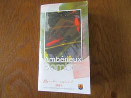 Agenda De 2021   Ambérieux En Dombes ( Ain ) - Other
