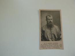 """Origineel Knipsel ( D 850 ) Uit Tijdschrift """" Ons Volk """" 1923 : Zendeling Pater  E. Ouwers  Kemmel  China Chine - Zonder Classificatie"""