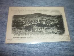 Carte Postale  Allemagne Sarre Gruss Aus Sulzbach Vue - Altri