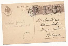 1925 CARTOLINA CON STEMMA CAMERA DEI DEPUTATI - Marcofilía