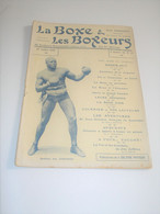 Boxe & Les Boxeurs N° 33 Du 20/07/1910 Couverture BATTLING JIM JOHNSON , Boxing Usa - 1900 - 1949