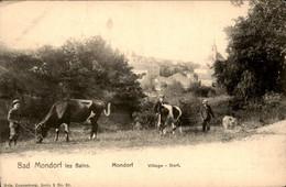 Luxemburg Luxembourg - Mondorf - Les Bains - Village - Koe Kuh - 1900 - Non Classificati