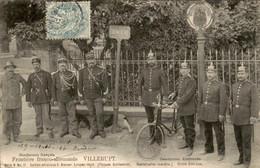 Frankrijk France - Villerupt - Frontiere Franco Allemande   - 1910 - Non Classificati