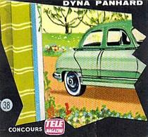 IMAGE BON POINT CONCOURS TELE POCHE DYNA PANHARD 6 X 6 CM - Otros