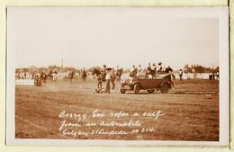 Ca000 ♥️ Carte Photo OLIVER Cowboy Oscar DUBOIS RODEO STAMPEDE CALGARY 1926 ? CANADA Rare - Calgary