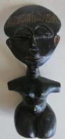 Afrique Occidentale Ghana Cote D'Ivoire Petite Poupée Akwaba De Fertilité, En Résine Hauteur 17 Cm (4) - Afrikanische Kunst