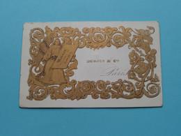 DUBOIS & Cie > Paris ( Carte Porcelaine / Porzellan / Porselein ) See SCANs ! - Visitenkarten