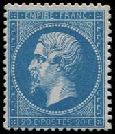 * FRANCE - Poste - 22, Signé Calves: 20c. Bleu - 1862 Napoleon III
