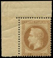 ** FRANCE - Poste - 28A, Type I, Signé Robineau, Cdf, Pli D'angle: 10c. Bistre - Unclassified