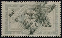 O FRANCE - Poste - 33, Signé Scheller: 5f. Violet-gris - 1863-1870 Napoleon III With Laurels