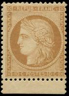 * FRANCE - Poste - 36, Petit Bdf, Très Frais, Signé Scheller: 10c. République - 1870 Siege Of Paris