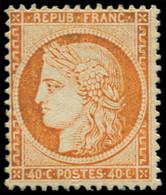 * FRANCE - Poste - 38, Signé Calves: 40c. Orange - Unclassified