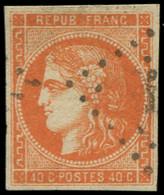 O FRANCE - Poste - 48, Très Frais, Signé Brun: 40c. Orange - Unclassified