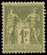 * FRANCE - Poste - 82, 1f. N/U Sage - 1876-1898 Sage (Type II)