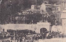 GARD LA GRAND COMBE INAUGURATION DE LA GALERIE SAINTE BARBE MINES - La Grand-Combe