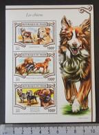 Niger 2015 Dogs Animals Labrador Yorkshire Terrier M/sheet Mnh - Niger (1960-...)