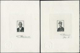 EPA WALLIS & FUTUNA - Poste - 180/1, 2 épreuves D'artiste En Noir, Signée: De Gaulle - Unclassified