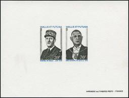 EPL WALLIS & FUTUNA - Poste - 180/81, épreuve Collective: De Gaulle - Unclassified
