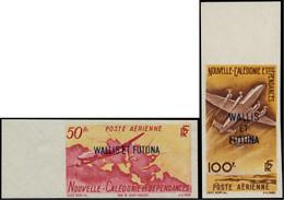 ** WALLIS & FUTUNA - Poste Aérienne - 12/13, Non Dentelés, Bdf: Avions (Maury) - Unclassified