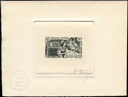EPA WALLIS & FUTUNA - Poste Aérienne - 28, épreuve D'artiste En Noir, Signée: 20f. UNESCO - Unclassified