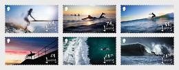 Jersey - Postfris / MNH - Complete Set Surfen 2021 - Jersey