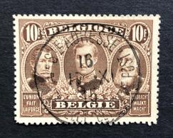 België, 1915, Nr. 149, Prachtig Centraal Gestempeld Ste ADRESSE - 1915-1920 Albert I.
