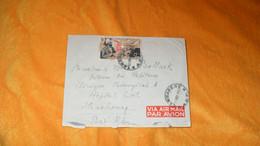 ENVELOPPE ANCIENNE DE 1952.../ CACHETS LAMBARENE A.E.F. ET LIBREVILLE A.E.F. POUR STRASBOURG + TIMBRE - Briefe U. Dokumente