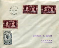 MARRUECOS-INGLES  Sobre  13 De Mayo 1937 -323 - Oficinas En  Marruecos / Tanger : (...-1958