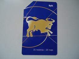 POLAND     USED CARDS   ZODIAC  ZODIAC SIGNS - Zodiaco